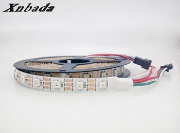 1m/2m/4m WS2812B RGB Led Strip,WS2812 Individual Adresabile IC,30/60/144Led/m Negru/Alb PCB IP30 rezistent la apa/IP65/IP67 DC5V