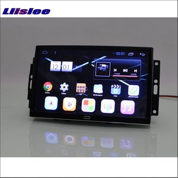 Liislee Mașină Android 6.0 Navigare GPS Multimedia Pentru JEEP Grand Cherokee Radio Ecran HD Audio Video CD și DVD Player Sistem