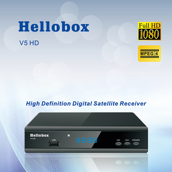 Hellobox V5 Receptor de Satelit DVBS2 IPTV On-line Upgrade de Software Suport CCCAM Newcam Mgcam ÎNȘELĂTORIE 2 Ani CUTIE TV
